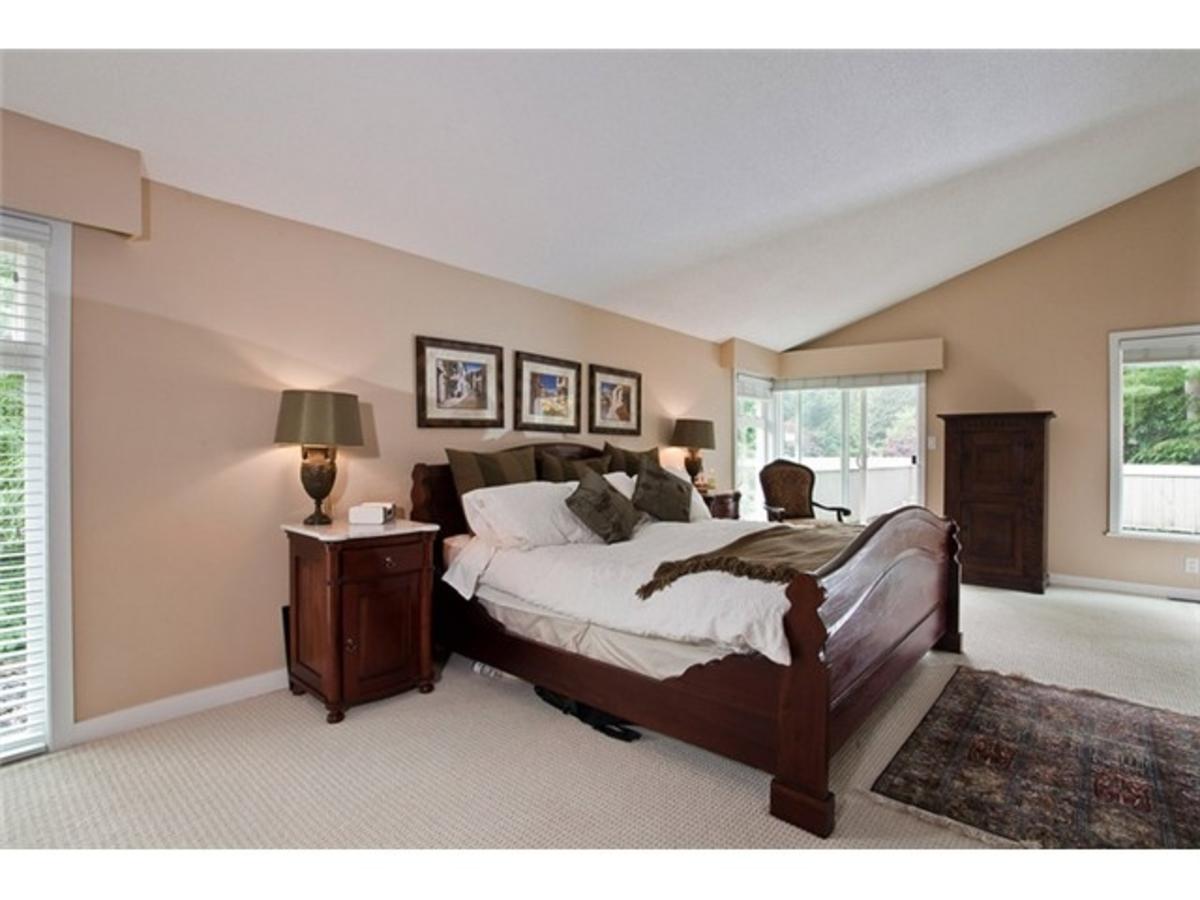 4643 Caulfeild Dr Master Bedroom at 4643 Caulfeild Drive, Caulfeild, West Vancouver