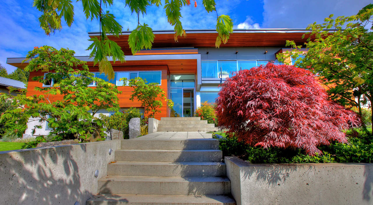2924 Altamont Cres Front View 1 at 2924 Altamont Crescent, Altamont, West Vancouver