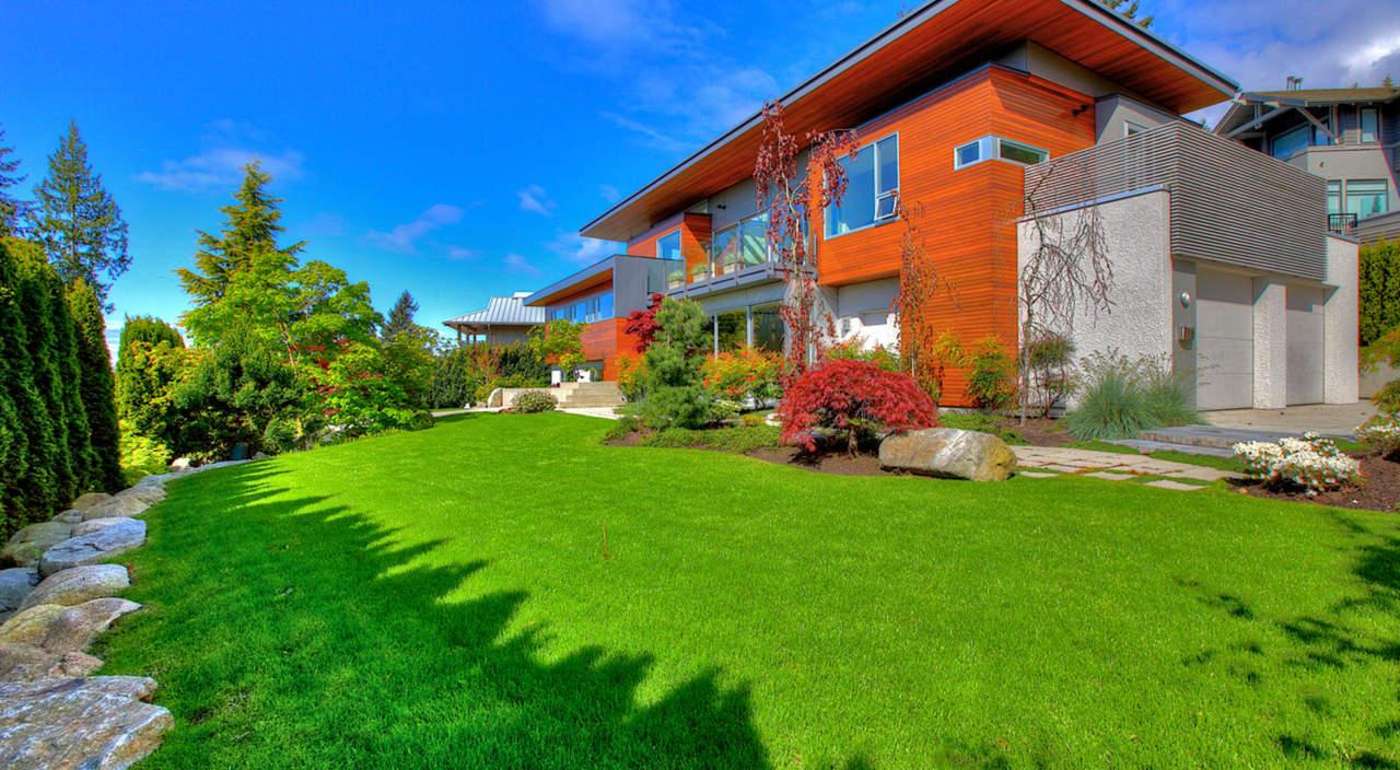 2924 Altamont Cres Front View 2 at 2924 Altamont Crescent, Altamont, West Vancouver