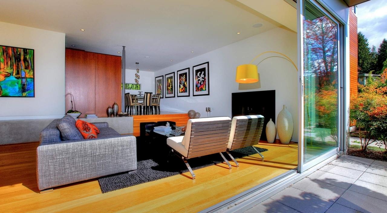 2924 Altamont Cres Living Room & Dining Room at 2924 Altamont Crescent, Altamont, West Vancouver