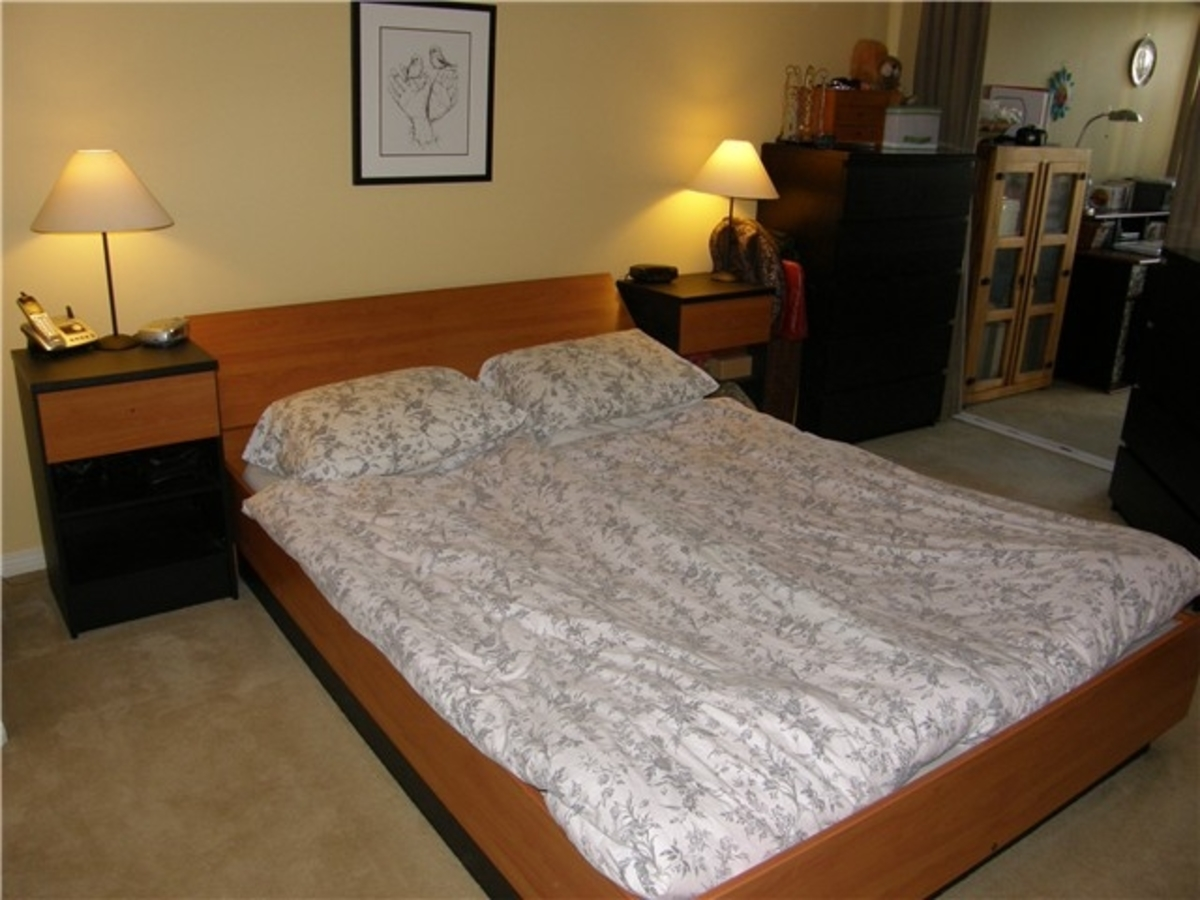 106 Master Bed at 106 - 365 East 1st, Lower Lonsdale, North Vancouver