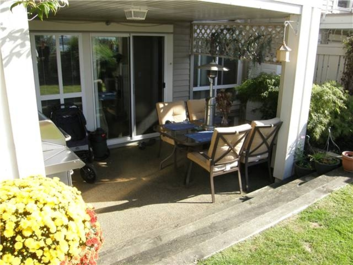 106 patio at 106 - 365 East 1st, Lower Lonsdale, North Vancouver