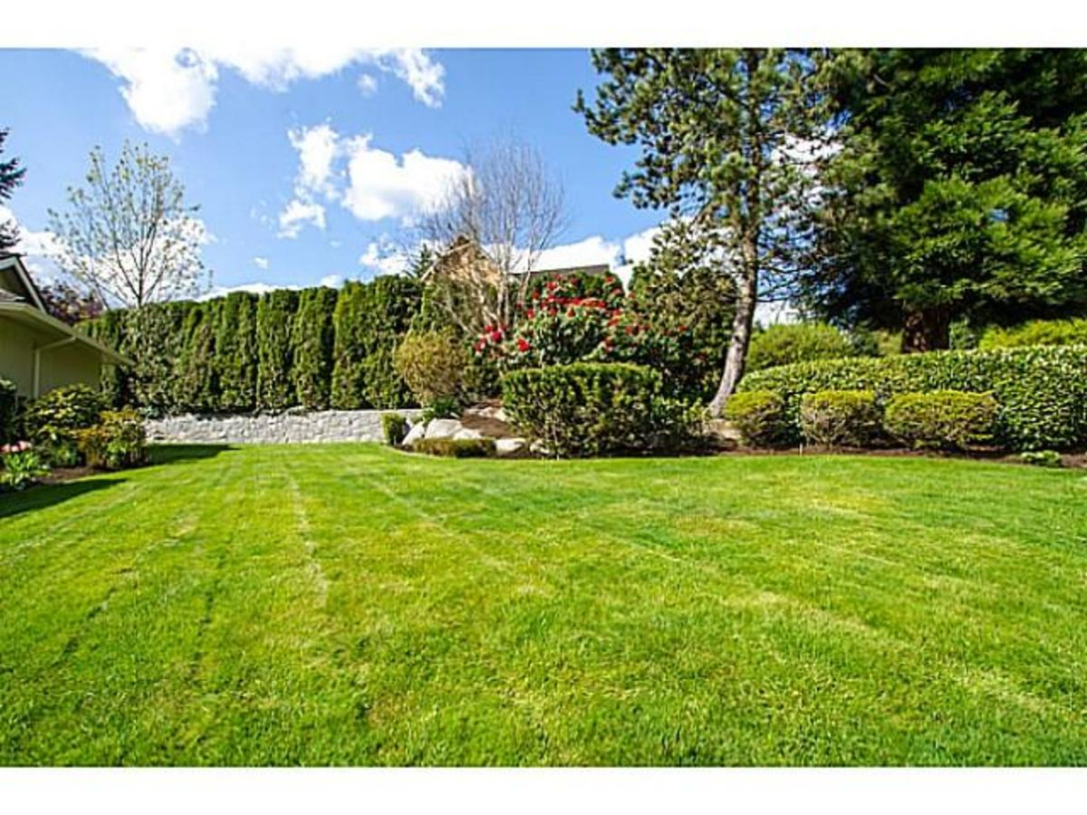 3303 Huntleigh Crt. Front Yard at 3303 Huntleigh Court, Windsor Park NV, North Vancouver