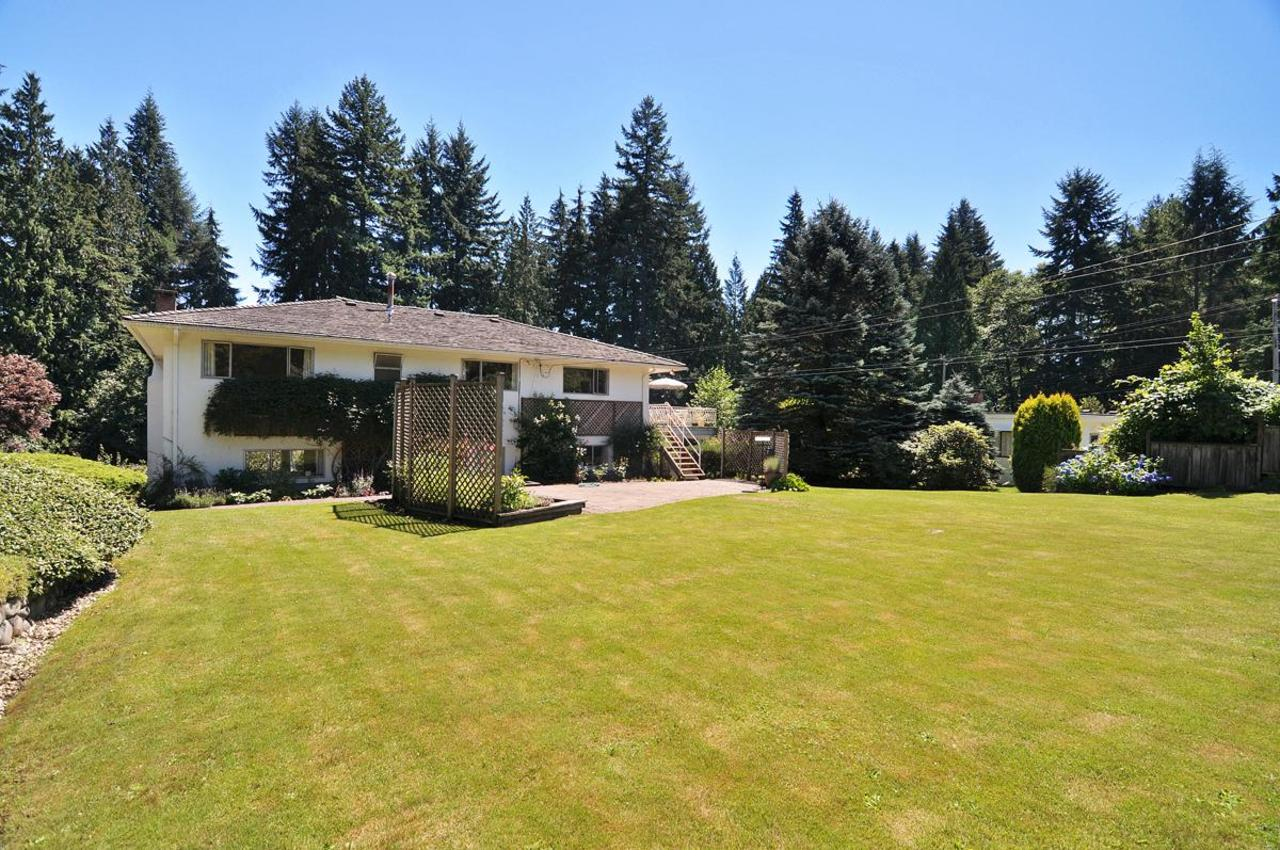 Rear Yard 3 at 409 Southborough Drive, British Properties, West Vancouver