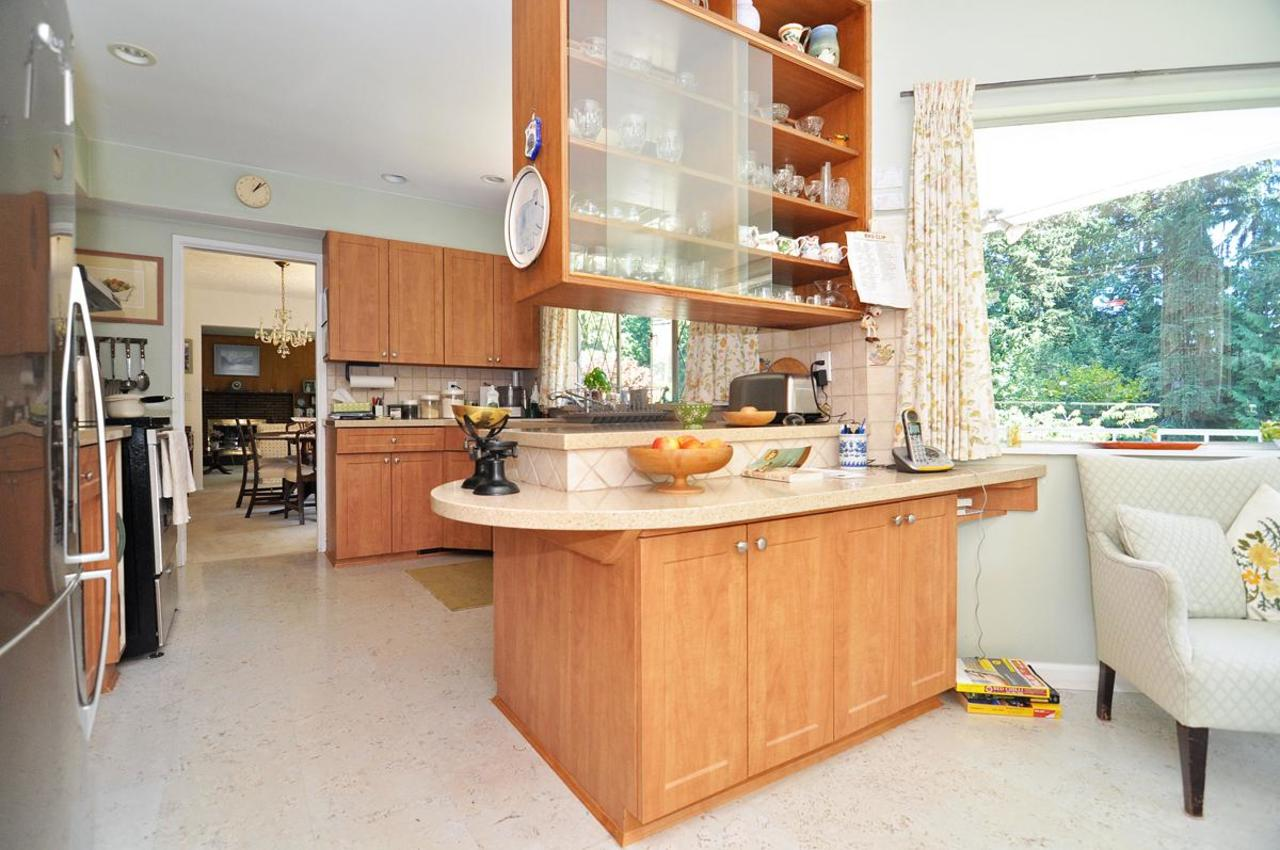 Kitchen at 409 Southborough Drive, British Properties, West Vancouver