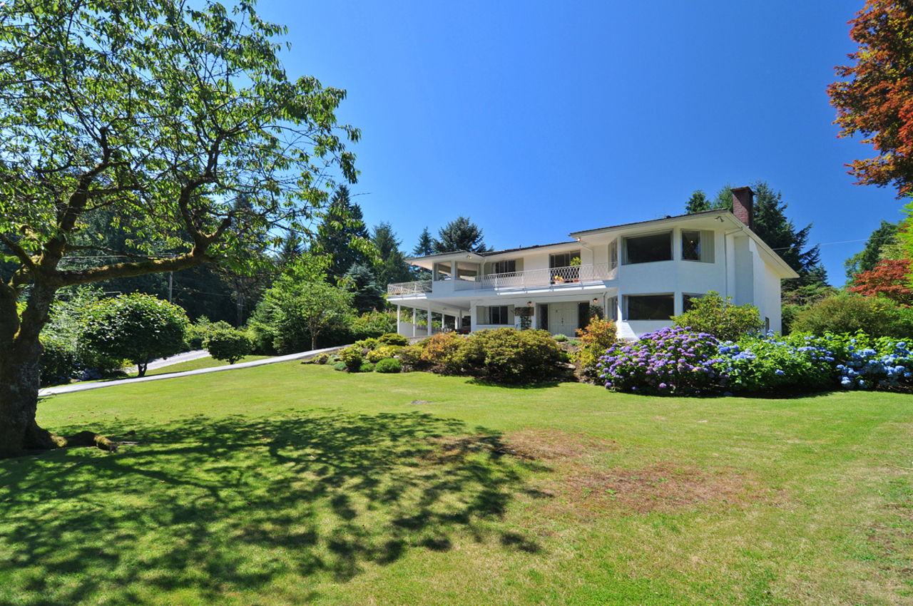 Front View 3 at 409 Southborough Drive, British Properties, West Vancouver