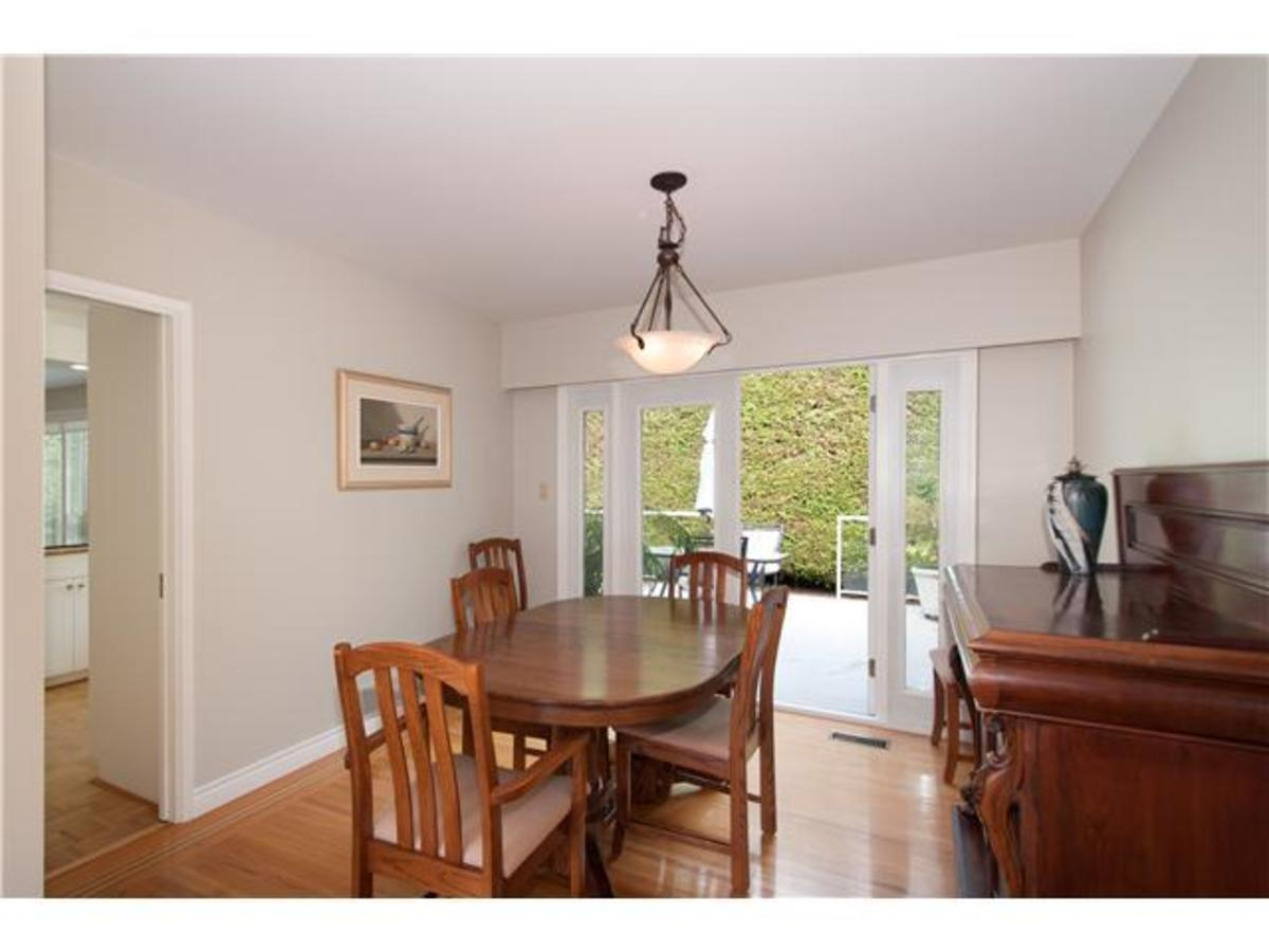 4095 Ripple Rd Dining Room at 4095 Ripple Road, Bayridge, West Vancouver