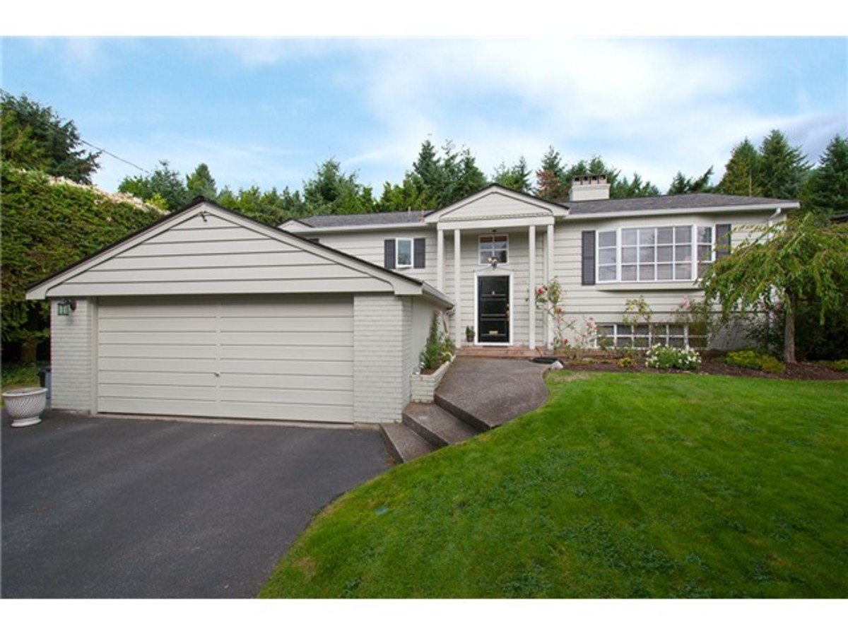 4095 Ripple Rd Front at 4095 Ripple Road, Bayridge, West Vancouver