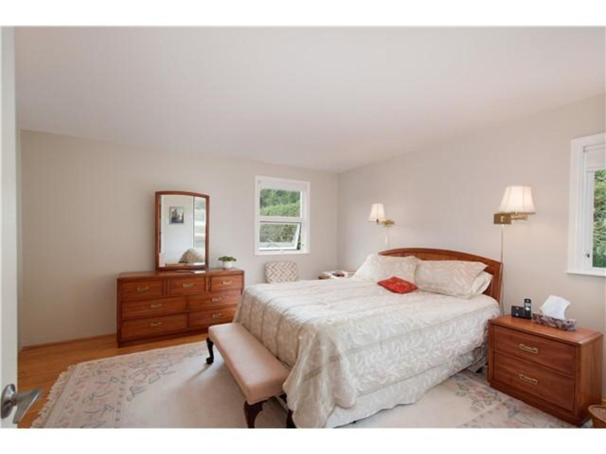 4095 Ripple Rd Master Bed at 4095 Ripple Road, Bayridge, West Vancouver