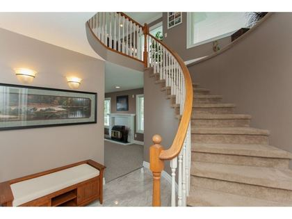 Stair Case at 2729 St Moritz Way, Abbotsford East, Abbotsford