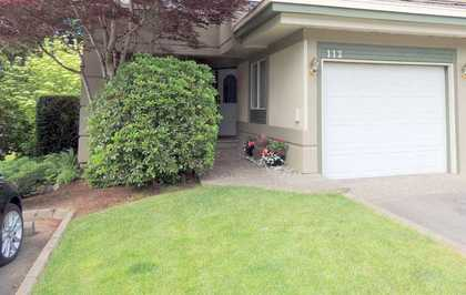 Exterior-Front-Landscaped-Complex-Strata at 112 - 4001 Old Clayburn Road, Abbotsford East, Abbotsford