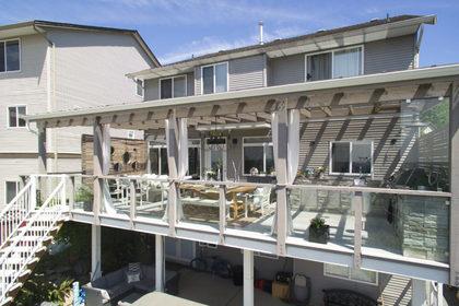 Sundeck-Patio-Balcony-Exterior-Backyard at 3355 Goldstream Drive, Abbotsford East, Abbotsford