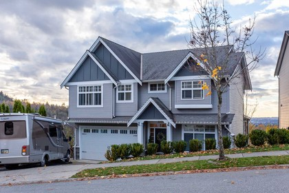 Front-exterior at 3355 Goldstream Drive, Abbotsford East, Abbotsford