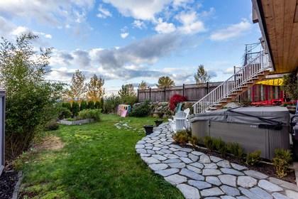 Exterior-Backyard-Yard at 3355 Goldstream Drive, Abbotsford East, Abbotsford