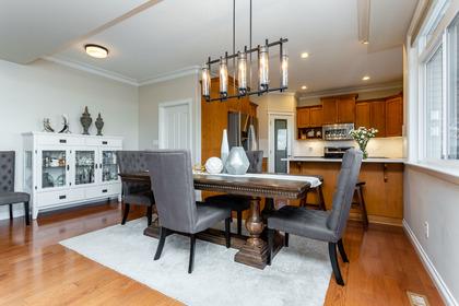 Interior-DiningRoom-EatingArea at 3355 Goldstream Drive, Abbotsford East, Abbotsford