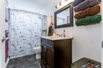 Basement-Suite-Rental-Inlaw-Bathroom at 3355 Goldstream Drive, Abbotsford East, Abbotsford