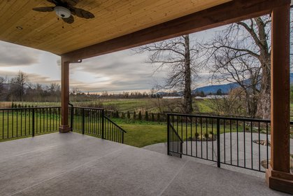 Exterior - Back Yard - Sundeck - Patio  at 42263 Elizabeth Avenue, Yarrow