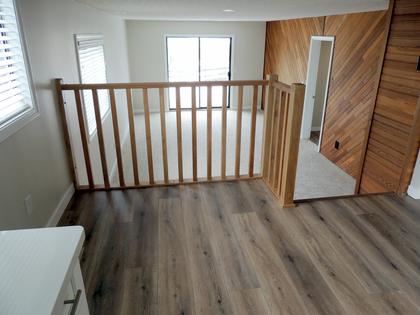 Interior - Kitchen - Eating Area - Family Room - Living Room at 45347 Stevenson Road, Chilliwack