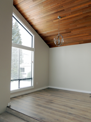 Interior - Dining Room - Eating Area - Vaulted Ceiling at 45347 Stevenson Road, Chilliwack
