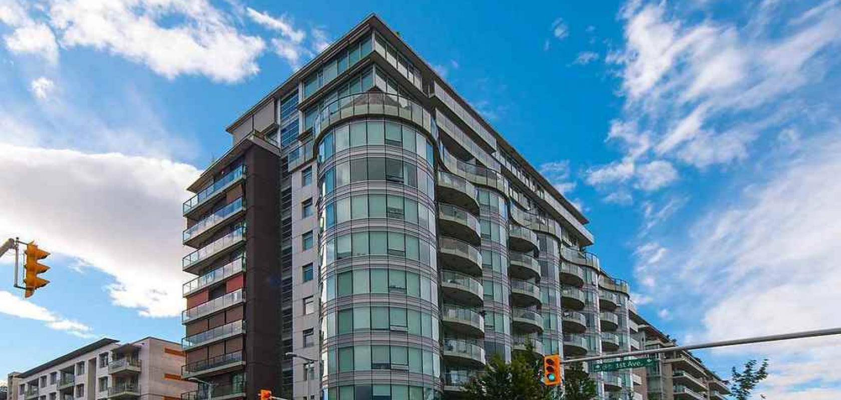 402 - 1661 Ontario Street, False Creek, Vancouver West
