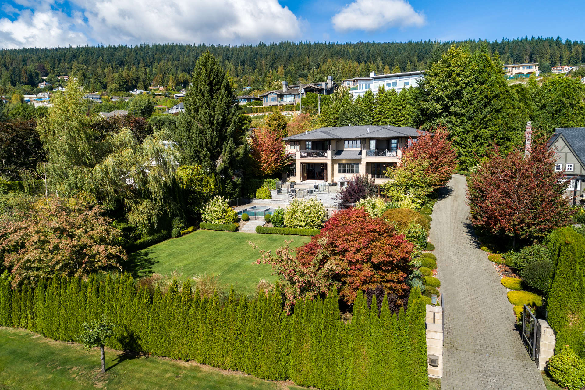 1075-groveland_drone- at 1075 Groveland Road, British Properties, West Vancouver