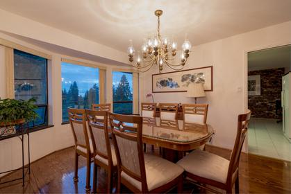 Formal Dining Room at 1380 Cammeray Road, Chartwell, West Vancouver
