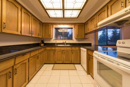 Kitchen at 1380 Cammeray Road, Chartwell, West Vancouver