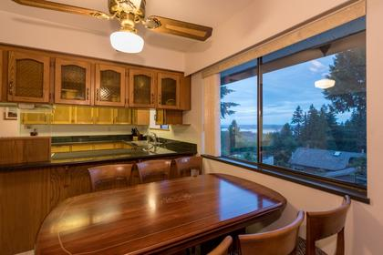Family Eating Area View at 1380 Cammeray Road, Chartwell, West Vancouver