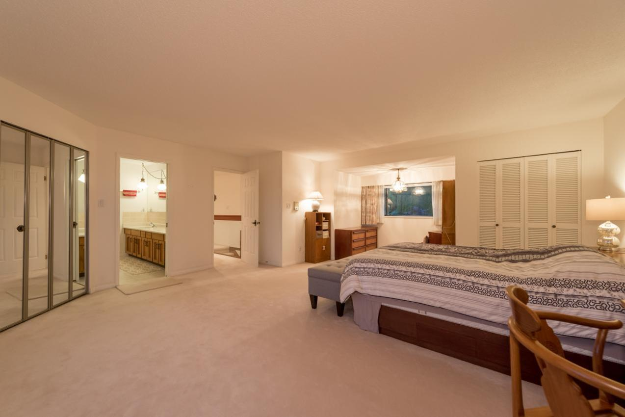 Master Bedroom at 1380 Cammeray Road, Chartwell, West Vancouver