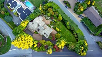 Aerial Photo at 839 Eyremount Drive, British Properties, West Vancouver