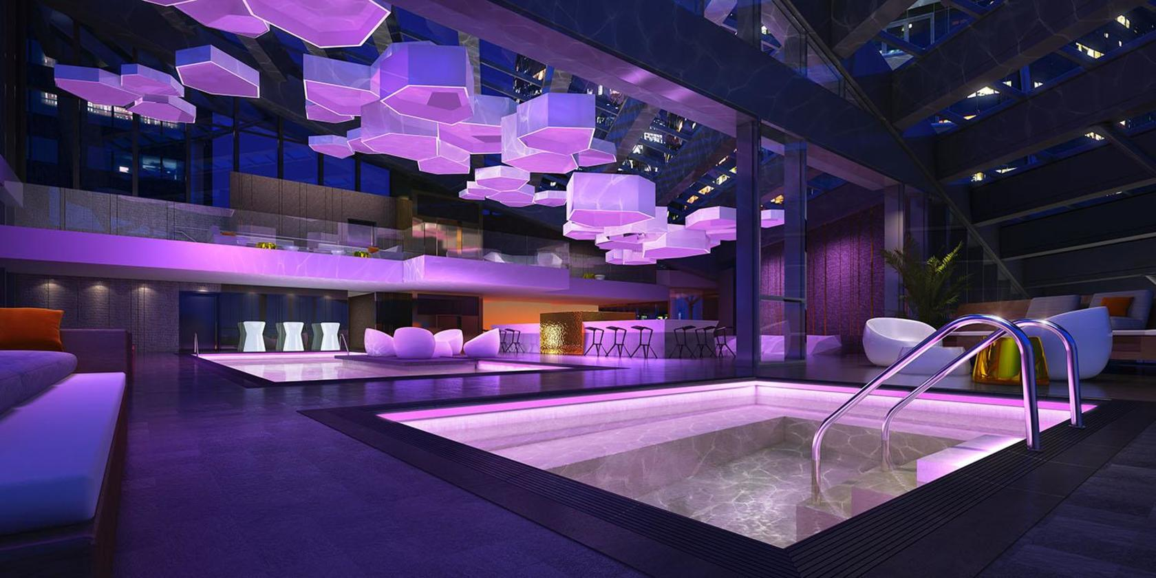 Pool Bar at  Trump International Hotel And Tower, Downtown VW, Vancouver West