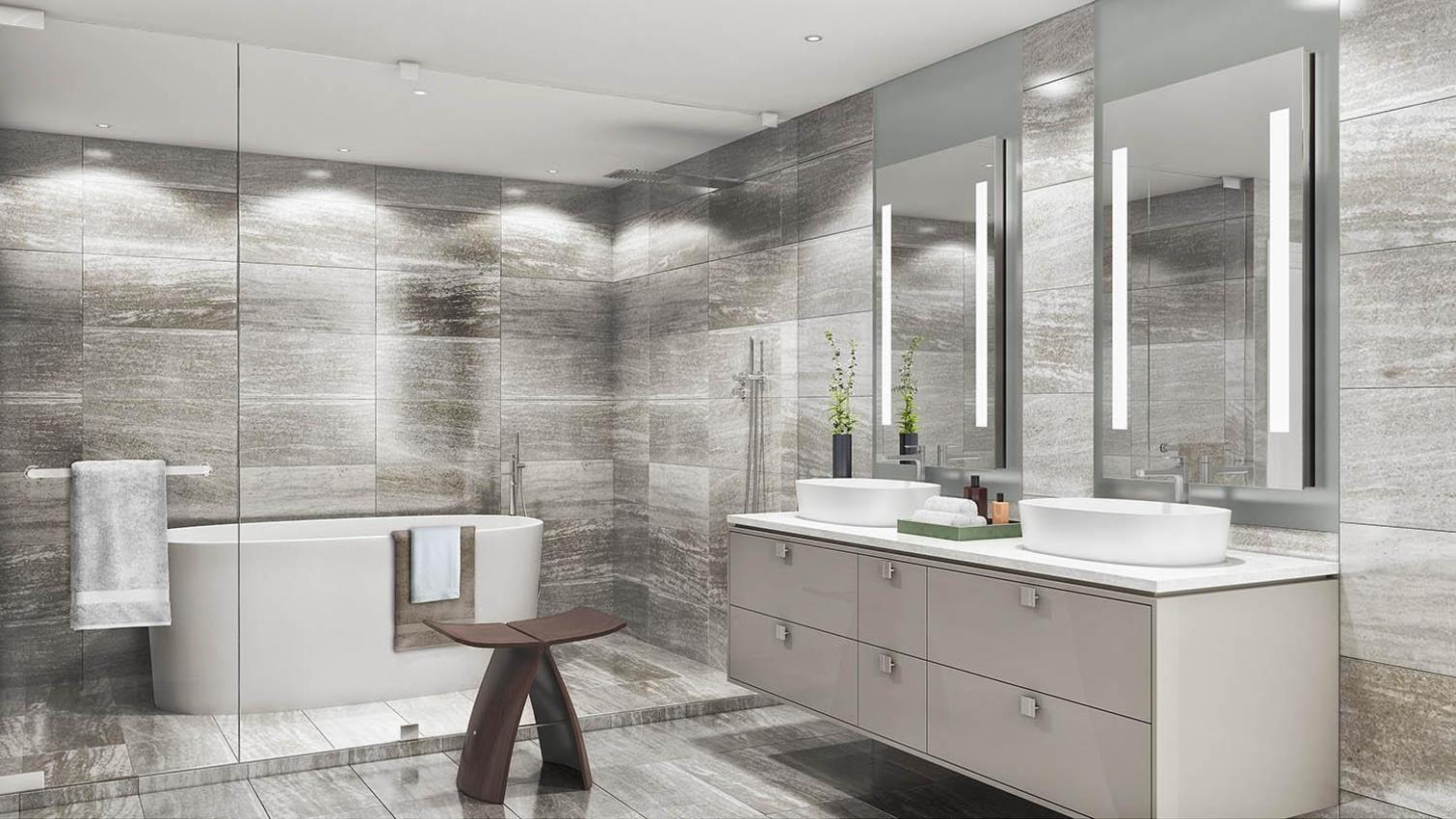 Master Bathroom at  Trump International Hotel And Tower, Downtown VW, Vancouver West