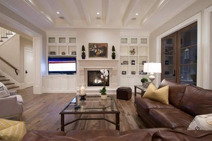Family Room at 135 Dogwood Drive, Anmore, Port Moody