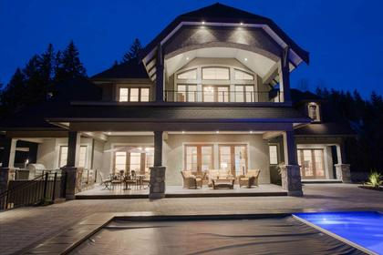 Exterior Back at 135 Dogwood Drive, Anmore, Port Moody