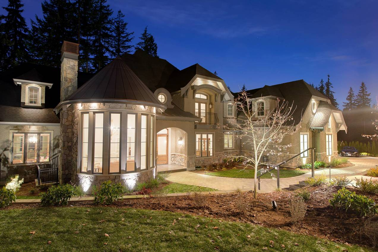 Exterior Front at 135 Dogwood Drive, Anmore, Port Moody