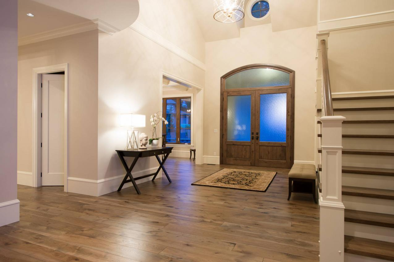 Grand Foyer at 135 Dogwood Drive, Anmore, Port Moody