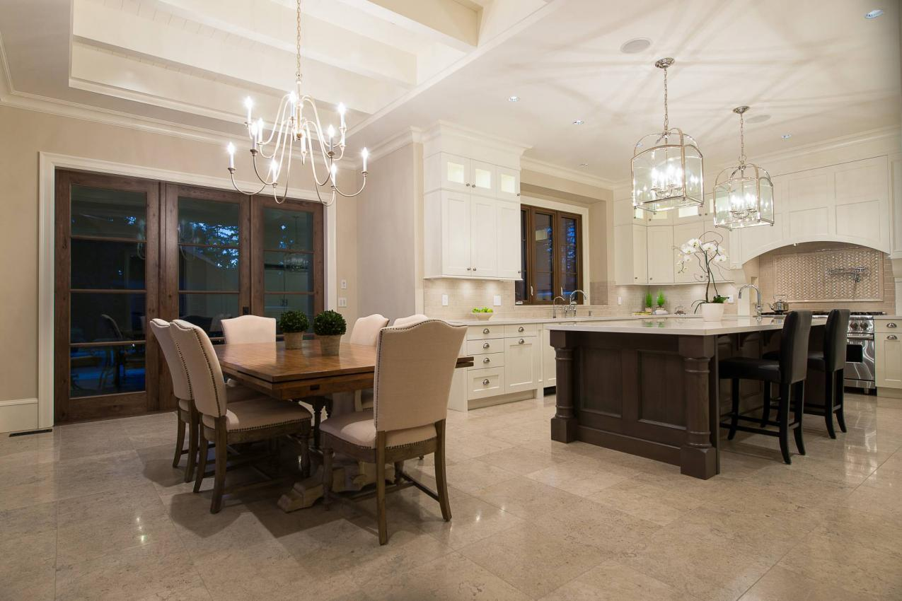 Family Eating Area at 135 Dogwood Drive, Anmore, Port Moody