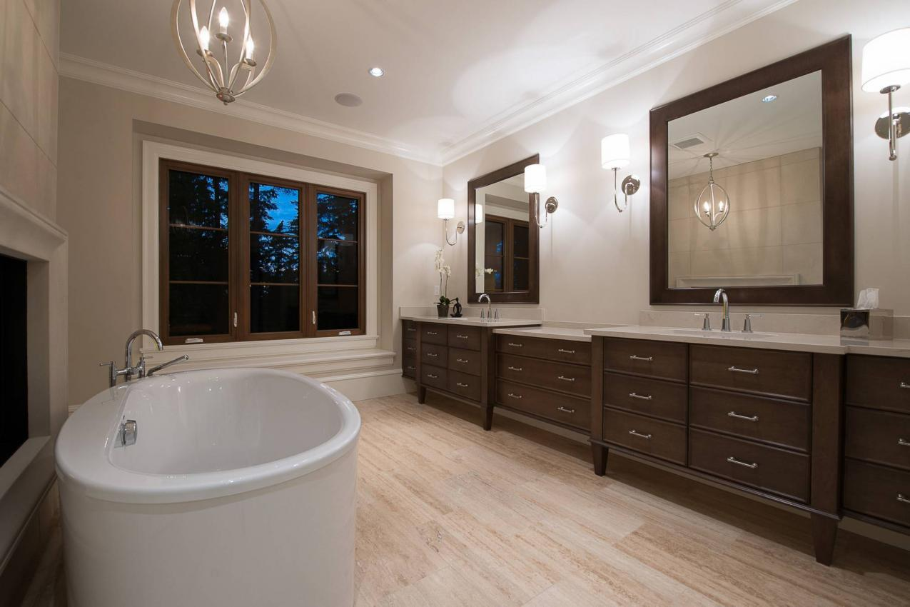 Master Bathroom at 135 Dogwood Drive, Anmore, Port Moody