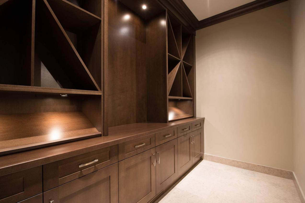 Wine Cellar at 135 Dogwood Drive, Anmore, Port Moody