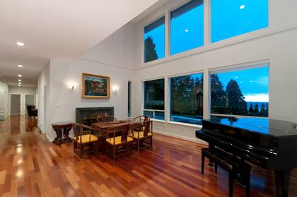 Living Room at 1445 Nelson Avenue, Ambleside, West Vancouver