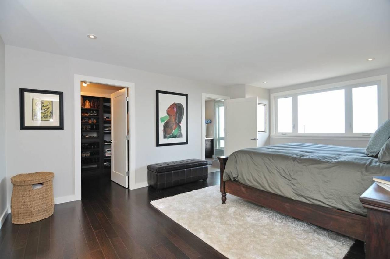 Master Bedroom at 4125 Burkehill Place, Bayridge, West Vancouver