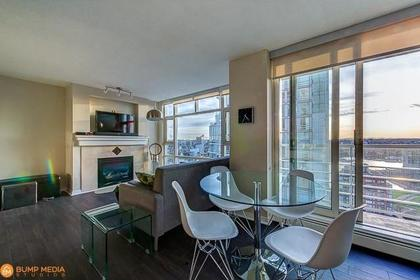 Dining Area at 3107 - 1199 Marinaside Crescent, Yaletown, Vancouver West