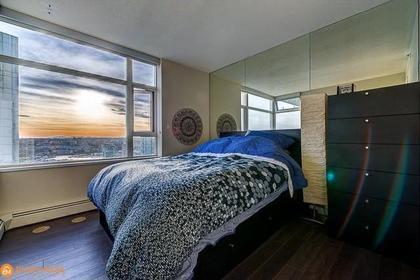 Master Bedroom at 3107 - 1199 Marinaside Crescent, Yaletown, Vancouver West