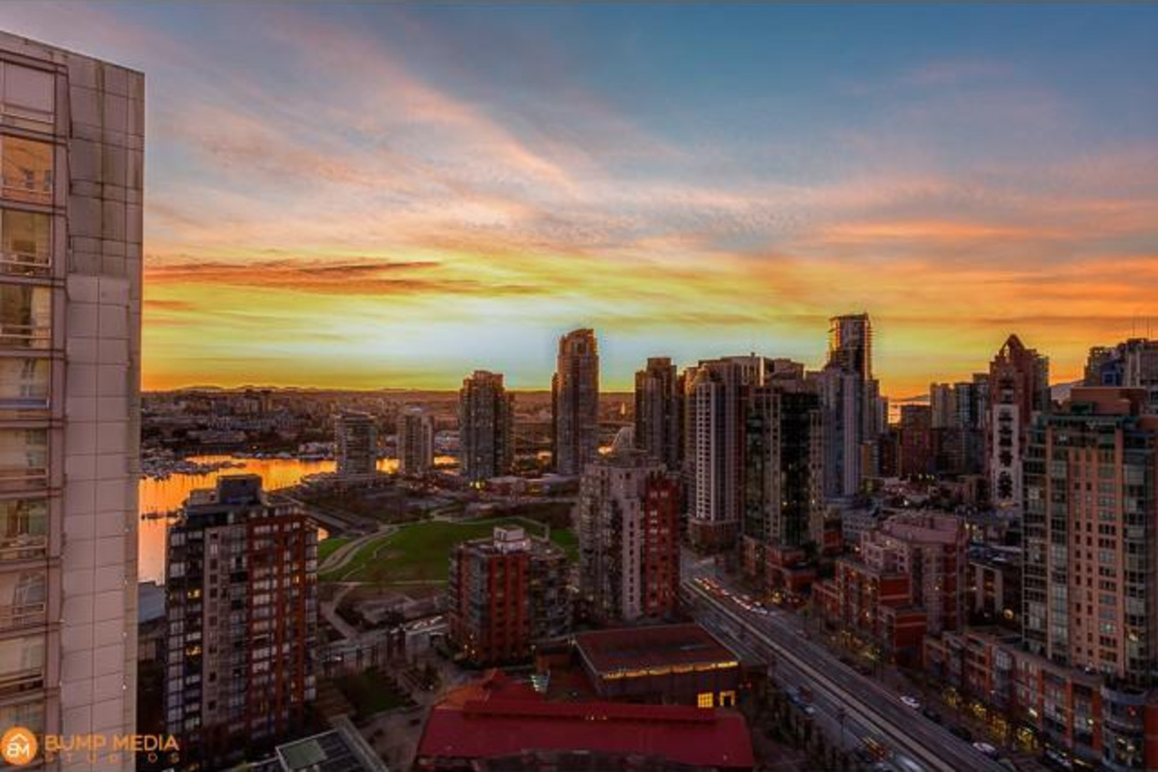 Sunset View at 3107 - 1199 Marinaside Crescent, Yaletown, Vancouver West