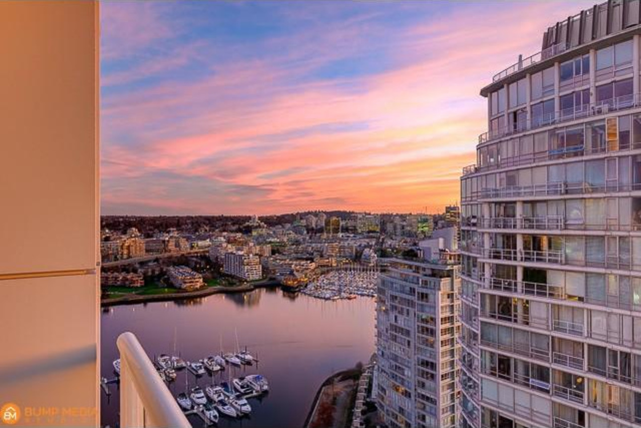 View  at 3107 - 1199 Marinaside Crescent, Yaletown, Vancouver West