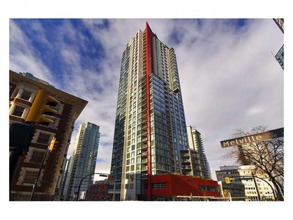 Building Exterior at Address Upon Request, Coal Harbour, Vancouver West