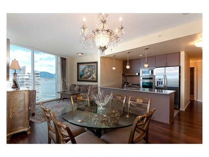 Dining Area at Address Upon Request, Coal Harbour, Vancouver West