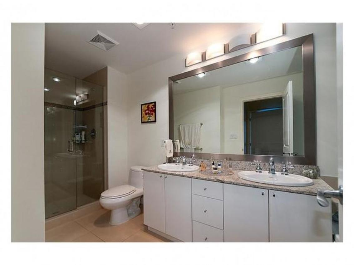 Master Bathroom at Address Upon Request, Coal Harbour, Vancouver West