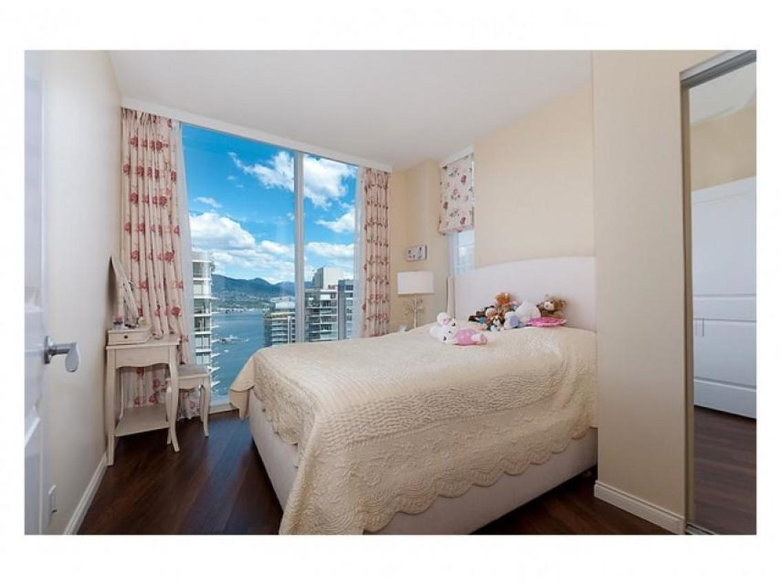 Bedroom at Address Upon Request, Coal Harbour, Vancouver West