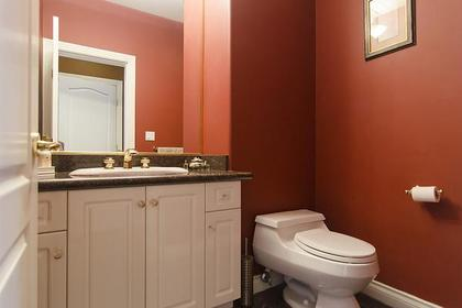 Powder Room at 1559 Topaz Court, Westwood Plateau, Coquitlam
